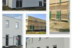 Nieuwbouwproject in houtskelet