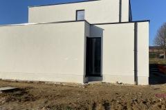 Nieuwbouwwoning werd volledig voorzien van isolatie EPS 0,032, dikte 16 cm